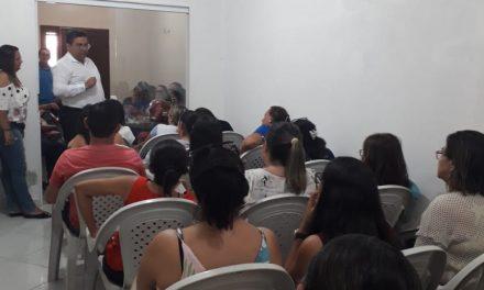 JAGUARUANA: APEOC DISCUTE AMPLIAÇÃO, 1/3 DE FÉRIAS E GRATIFICAÇÕES COM A CATEGORIA