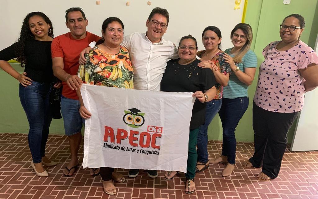 PACOTI: APEOC E PROFESSORES ARTICULAM CRIAÇÃO DE COMISSÃO MUNICIPAL