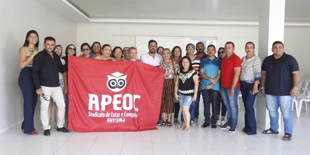 ICÓ: APEOC EMPOSSA NOVA COMISSÃO MUNICIPAL