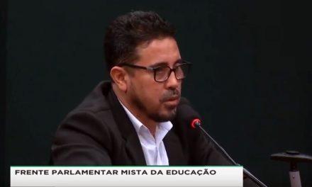 BRASÍLIA: ANIZIO DEFENDE ROYALTIES PARA EDUCAÇÃO EM DEBATE NA CÂMARA FEDERAL