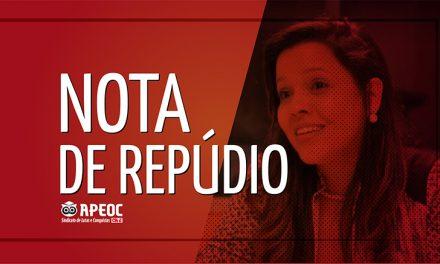 NOTA DE REPÚDIO – OS PROFESSORES DA REDE MUNICIPAL DE FORTALEZA MERECEM RESPEITO!