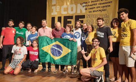 SOBRAL: APEOC PARTICIPA DE CONGRESSO DA UNIÃO ESTADUAL DOS ESTUDANTES DO CEARÁ
