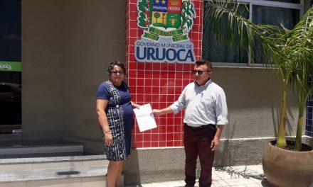 URUOCA: APEOC DISCUTE AÇÃO DE PRECATÓRIOS E PROTOCOLA OFÍCIOS NA PREFEITURA