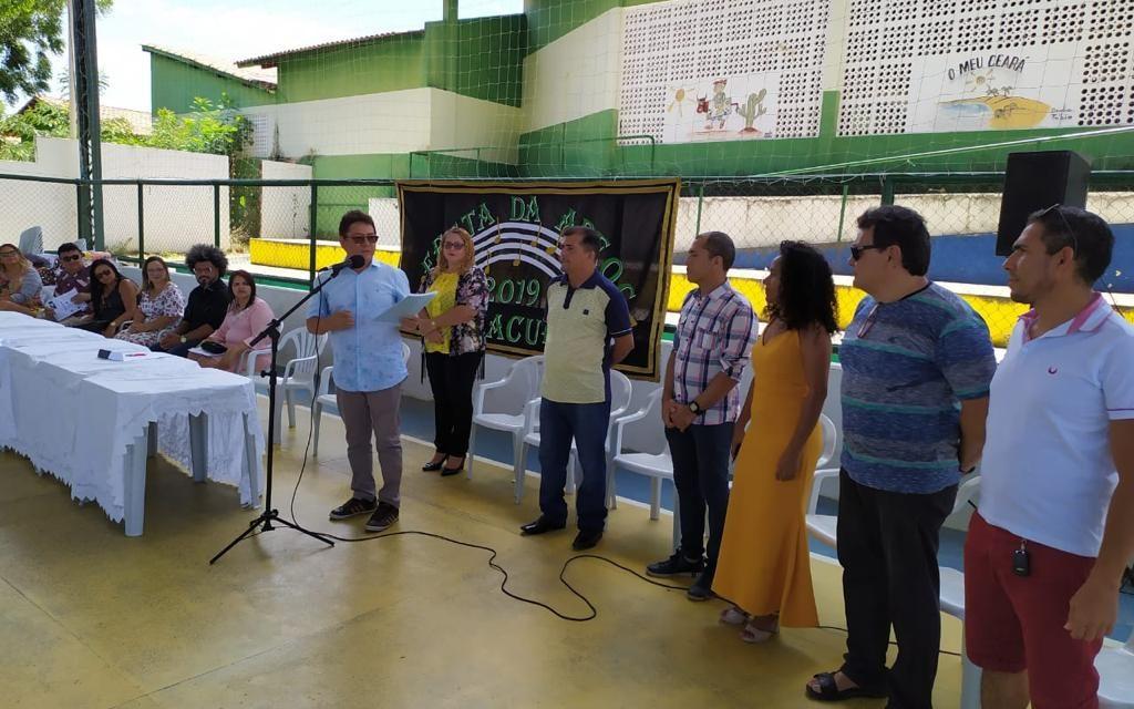 PARACURU: APEOC EMPOSSA NOVA COMISSÃO MUNICIPAL