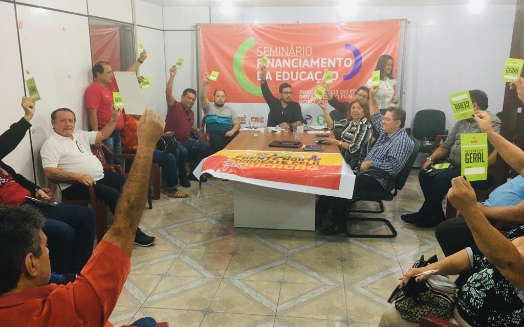EXECUTIVA DELIBERA PRIORIDADES: DEFESA DA DEMOCRACIA, NOVO FUNDEB E ZERAR A PAUTA ESTADUAL