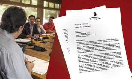 GOVERNADOR PROPÕE RETOMADA DA NEGOCIAÇÃO DIRETA, JÁ NA SEGUNDA FEIRA!