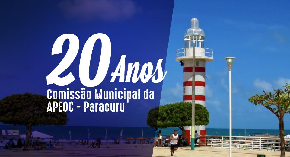 PARACURU: APEOC COMPLETA 20 ANOS DE ATUAÇÃO NO MUNICÍPIO E COMEMORA CONQUISTAS