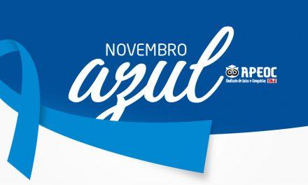 NOVEMBRO AZUL: APEOC APOIA A PREVENÇÃO AO CÂNCER DE PRÓSTATA