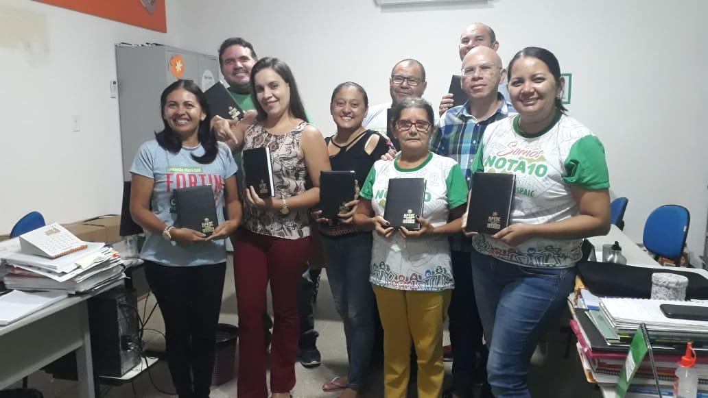 FORTIM: APEOC REALIZA ENCONTRO COM SERVIDORES PARA INICIAR AS ATIVIDADES DE 2020