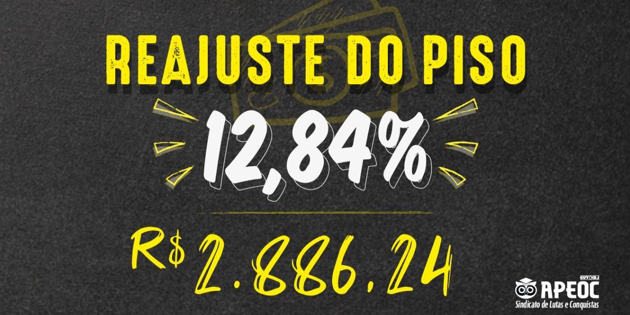 MEC RATIFICA REAJUSTE DO PISO DO MAGISTÉRIO EM 12,84%