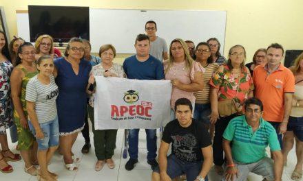 JAGUARUANA: APEOC DISCUTE CAMPANHA SALARIAL E DEFORMA DA PREVIDÊNCIA