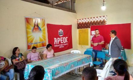 PALMÁCIA: APEOC DISCUTE PROPOSTA DE REAJUSTE DE 12,84% COM SECRETARIA DE EDUCAÇÃO E FINANÇAS