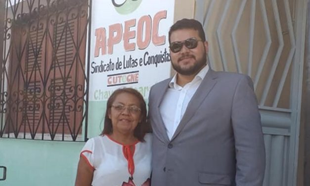CHAVAL: APEOC DISCUTE PAUTAS DA CAMPANHA SALARIAL 2020