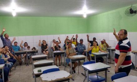 MORRINHOS: APEOC CONSTRÓI EM ASSEMBLEIA GERAL CAMPANHA SALARIAL 2020