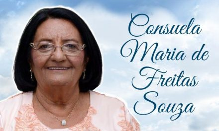 NOTA DE PESAR:  PROFESSORA CONSUELA MARIA DE FREITAS SOUZA