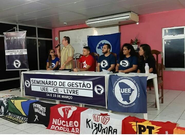 APEOC PARTICIPA DE SEMINÁRIO DE GESTÃO SOBRE MOVIMENTO ESTUDANTIL