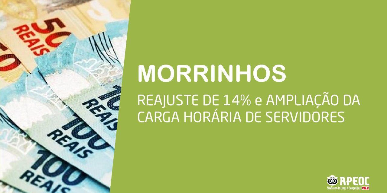 MORRINHOS: APEOC GARANTE REAJUSTE DE 14% PARA MAGISTÉRIO