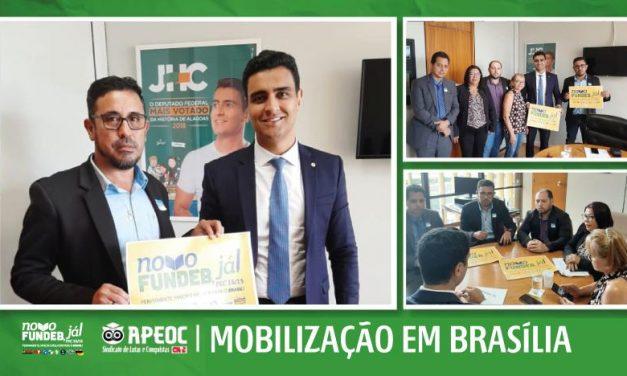 NOVO FUNDEB: APEOC ARTICULA APOIO EM BRASÍLIA PARA APROVAÇÃO DA PEC 15/15