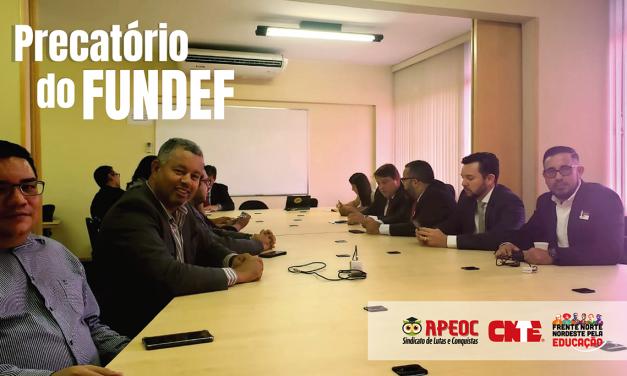 COLETIVO JURÍDICO DA CNTE DEBATE PRECATÓRIOS DO FUNDEF E DEFINE NOVAS ESTRATÉGIAS DE AÇÃO