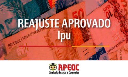 IPU: APROVADO REAJUSTE DE 12,84% PARA O MAGISTÉRIO