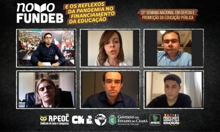 RELATORA AFIRMA EM LIVE DA APEOC QUE PEC 15/15 SERÁ VOTADA EM MAIO