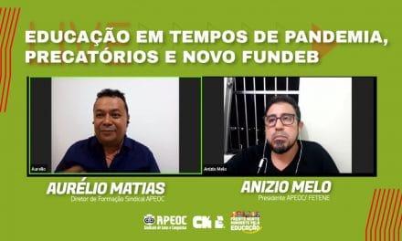 | LIVE | EDUCAÇÃO EM TEMPOS DE PANDEMIA, PRECATÓRIOS E NOVO FUNDEB