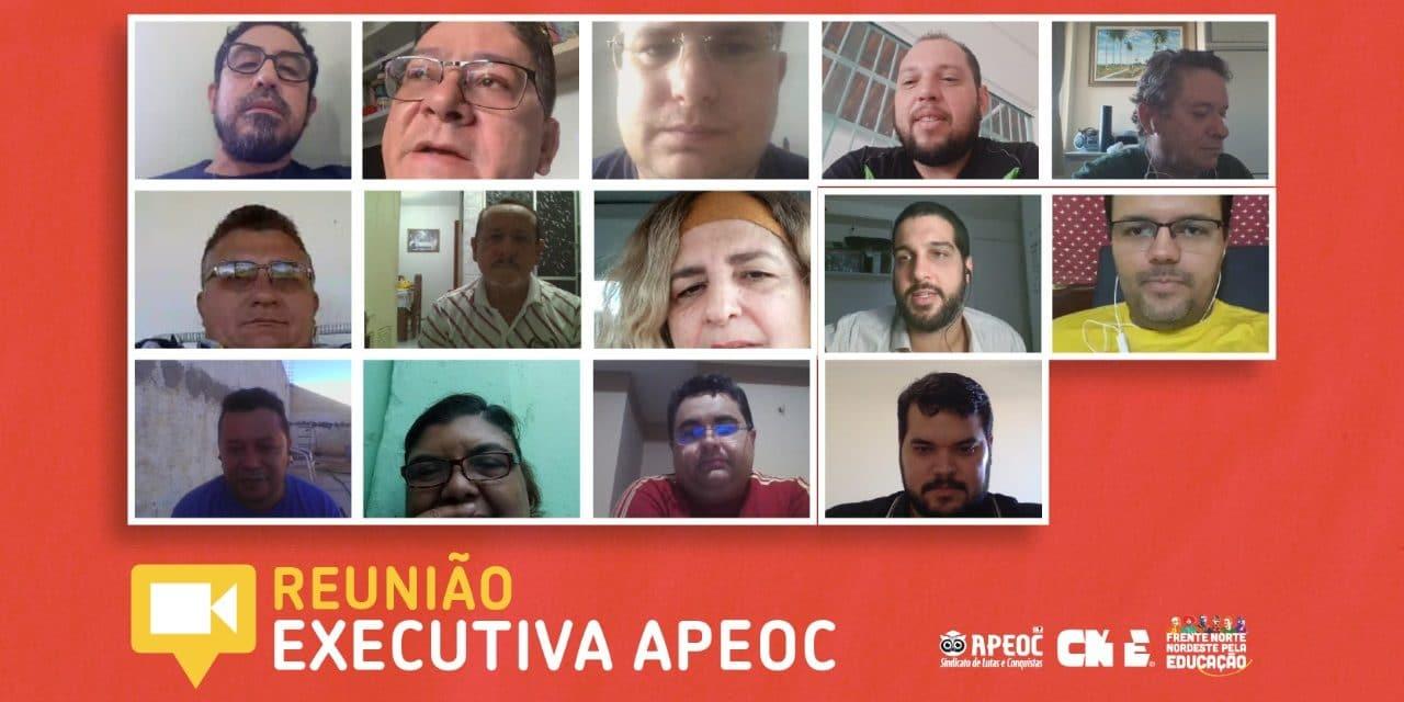 EXECUTIVA DELIBERA PAUTAS DE VALORIZAÇÃO DA EDUCAÇÃO, CONTRA A RETIRADA DE DIREITOS