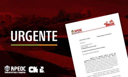 URGENTE: APEOC ENVIA OFÍCIO AO ABOLIÇÃO COBRANDO AGILIDADE NO ENVIO DE PL DO REAJUSTE
