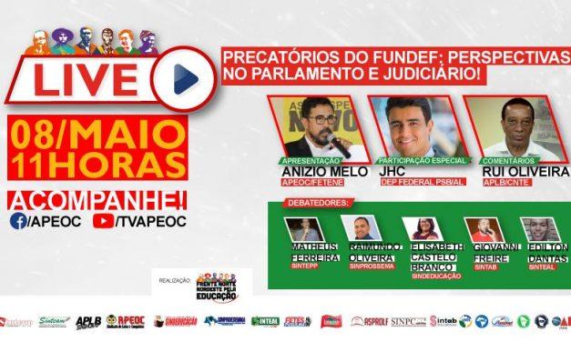 VEM AÍ A LIVE PRECATÓRIOS DO FUNDEF!
