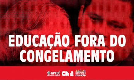 CÂMARA EXCLUI EDUCAÇÃO DO CONGELAMENTO: AGORA É PRESSÃO NO SENADO!