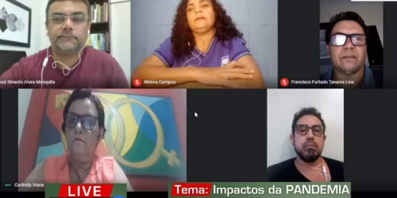 LIVE CENÁRIO DE IMPACTOS DA PANEMIA NA EDUCAÇÃO