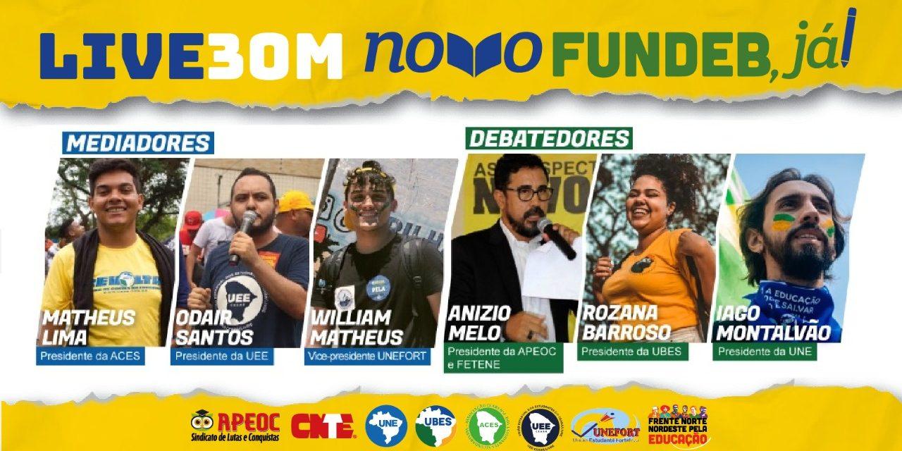 LIVE #30M DEBATE NOVO FUNDEB JÁ!