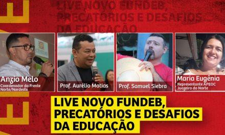 LIVE NOVO FUNDEB, PRECATÓRIOS E DESAFIOS DA EDUCAÇÃO