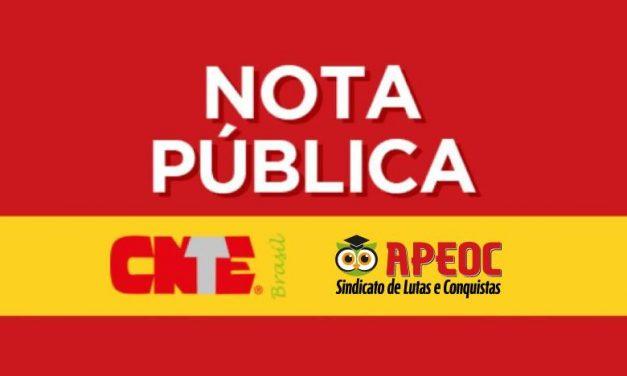 CARLOS ALBERTO DECOTELLI NÃO REPRESENTA OS ATRIBUTOS DE UM MINISTRO DA EDUCAÇÃO QUE GARANTA AS CONDIÇÕES PARA UM ENSINO PÚBLICO, GRATUITO, LAICO E DEMOCRÁTICO