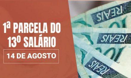 APÓS PRESSÃO, ANTECIPAÇÃO DO 13 SALÁRIO ESTÁ GARANTIDA PARA 14 DE AGOSTO