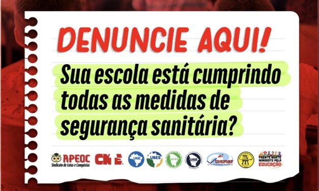 CANAL DE DENÚNCIA DE RETORNO IRREGULAR E/OU ASSÉDIO MORAL