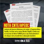 NOTA PÚBLICA CNTE/APEOC