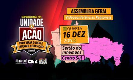ASSEMBLEIA GERAL APEOC – 6ª Videoconferência Regional