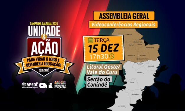 ASSEMBLEIA GERAL APEOC – Terceira Videoconferência Regional