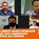 CARTA DA FRENTE NORTE/NORDESTE É ENTREGUE AOS CANDIDATOS À PRESIDÊNCIA DA CÂMARA