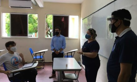 INICIO DO ANO LETIVO: APEOC E ENTIDADES ESTUDANTIS FISCALIZAM ESCOLAS DA REDE ESTADUAL