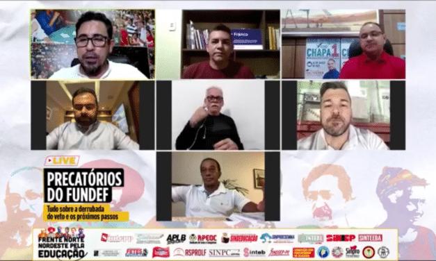 LIVE PRECATÓRIOS DO FUNDEF: NORTE E NORDESTE UNIDOS ATÉ A VITÓRIA FINAL!