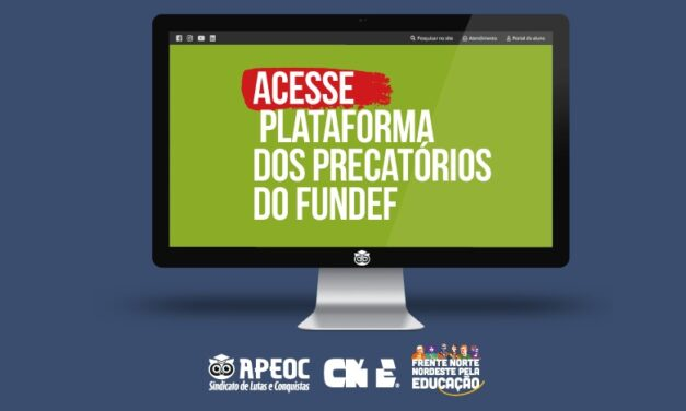 PLATAFORMA DOS PRECATÓRIOS DO FUNDEF LIBERADA!