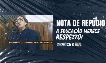 TAUÁ: A EDUCAÇÃO MERECE RESPEITO!