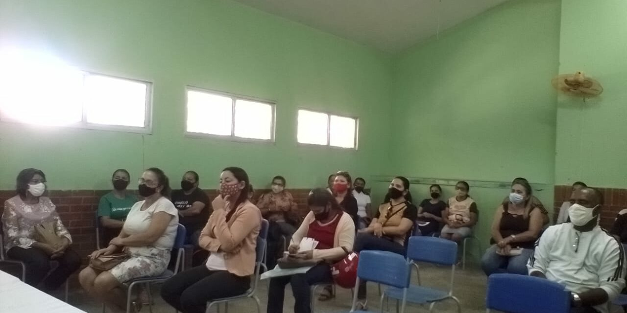 SALITRE: APEOC DISCUTE PRECATÓRIOS DO FUNDEF COM A CATEGORIA E ENCAMINHA ELEIÇÃO DE COMISSÃO MUNICIPAL