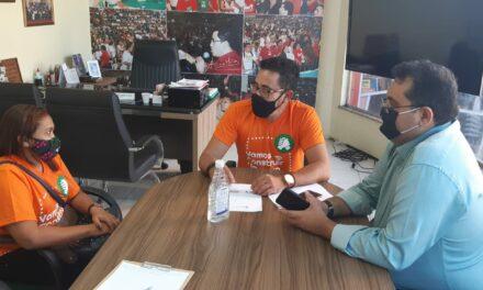 CARIRÉ: ANIZIO MELO REÚNE-SE COM COMISSÃO MUNICIPAL PARA TRATAR DE PRECATÓRIOS DO FUNDEF