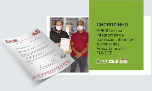 CHOROZINHO: APEOC INDICA INTEGRANTES DA COMISSÃO INTERINSTITUCIONAL DOS PRECATÓRIOS DO FUNDEF