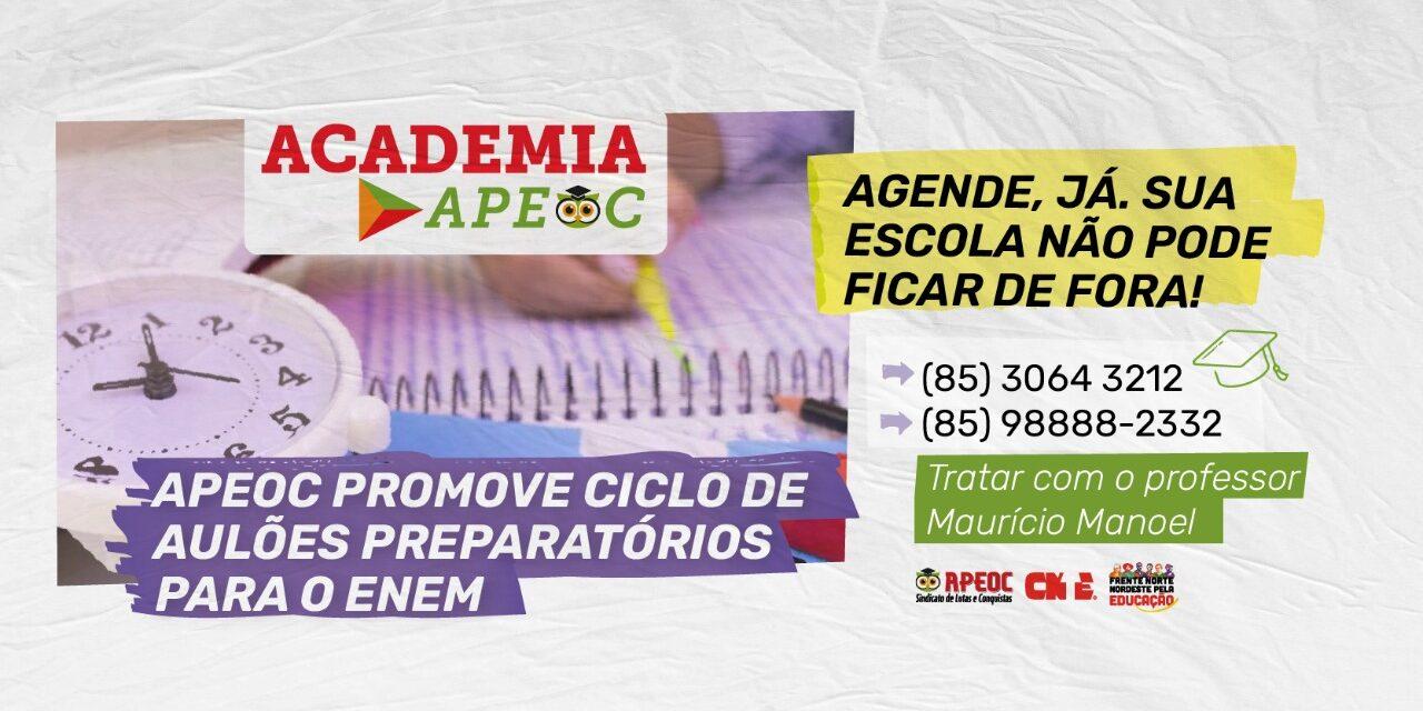 APEOC NO ENEM 2021: CICLO DE AULÕES ESPECIAIS