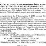 O FERIADO DO(A) SERVIDOR(A) FOI TRANSFERIDO PARA 1 DE NOVEMBRO