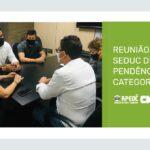 REUNIÃO APEOC E SEDUC DISCUTE PENDÊNCIAS DA CATEGORIA